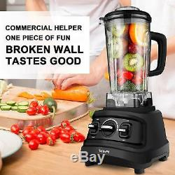 1500W Professional Electric Blender Machine Countertop Mixer Juicer with Cup