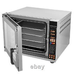 16Gal Toaster Oven Convection Oven 2.12cuft Spray Function 4-Tier Countertop