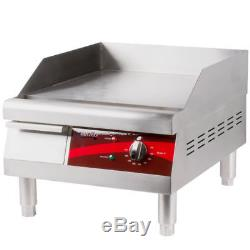 16 Avantco Electric Stainless Steel Commercial Countertop Flat Top Griddle 120V