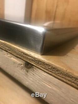 20ga 304 stainless steel counter top 20 x 20 x 1 Thick brushed finish