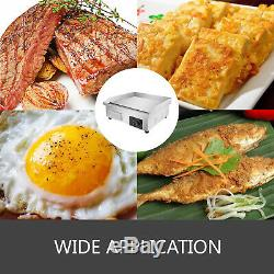 22 Commercial Electric Countertop Griddle Flat Top Grill Hot Plate BBQ 3000W