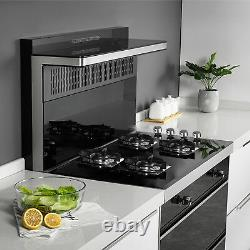 24 4 Burners Gas Cooktop Stove Top Tempered Glass Built-In LPG/NG Gas Cooktops