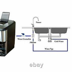 3-in-1 Crushed Ice and Ice Cube Maker with ice water Function Countertop Machine