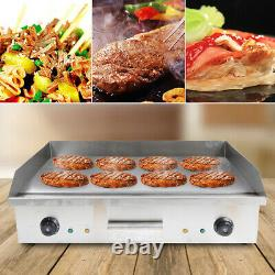 4400W BBQ Electric Countertop Griddle Flat Top Commercial Restaurant Grill USA