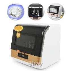 5L Complete Portable Countertop Dishwasher 360° Streak-Free Deep Cleaning