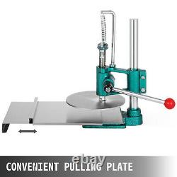 7.8inch Manual Pastry Press Machine Commercial Dough Chapati Sheet Pizza Crust
