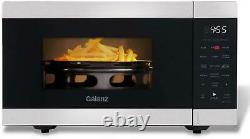Air Fry Countertop Microwave Oven 3 in 1 Convection Fryer. 9 Cu Ft Stainless 360