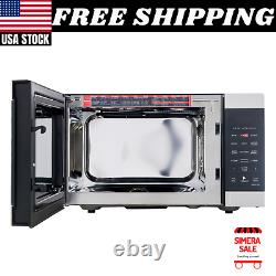 Air Fry Microwave 0.9 Cu Ft 3-in-1 Countertop Convection Oven Stainless, 900W