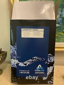 Alexapure Pro Stainless Water Purification Filtration System Unused
