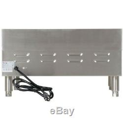 Avantco 24 Electric Commercial Countertop Steel Flat Top Griddle Grill 208/240V