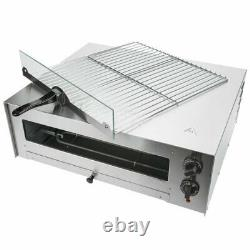 Avantco CPO16TSGL Stainless Steel Countertop Pizza Snack Oven with Adjustable