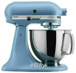 BRAND NEW Kitchen Aid Artisan Series 5 Quart Tilt-Head Stand Mixer Blue Sealed