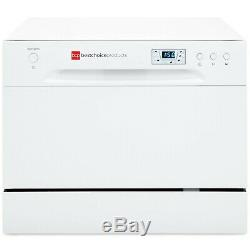 Best Choice Products 6 Wash Portable Compact Stainless Countertop Dishwasher New