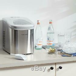 Best Portable Small Ice Maker Nugget Pellet Countertop Machine Frigidaire New