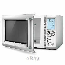 Breville BMO734XL Quick Touch Intuitive Stainless Microwave w Smart Settings NEW