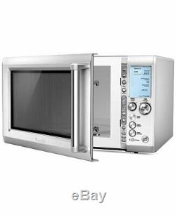 Breville Quick Touch Microwave Silver (BMO734XL)