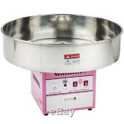 Carnival King Commercial Cotton Candy Machine Countertop Maker 28 Round Bowl
