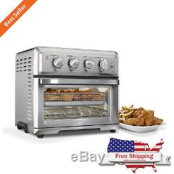 Commercial Countertop Air Fryer Full Size Toaster Oven Premium Quality Silver