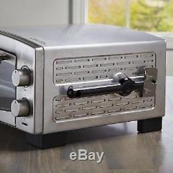 Countertop Commercial Pizza Oven Electric Stainless Steel Baking Food Deck