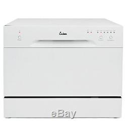 Countertop Dishwasher White Portable Compact Apartment Energy Star Dish Washer