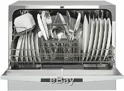 Danby Compact Stainless Countertop Dishwasher 6 Place Setting Capacity