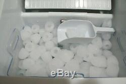 Della Portable Ice Maker Countertop 3 Cube Sizes Stainless Steel Ice Machine