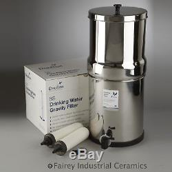 Doulton W9361122 SS2 Stainless Steel Countertop Filter System