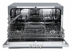 EdgeStar DWP62 22W 6 Place Setting Energy Star Rated Countertop Silver