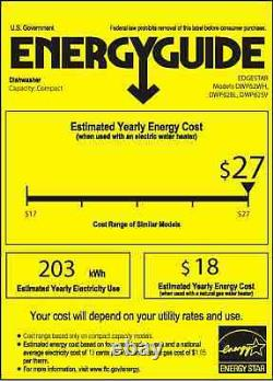 EdgeStar DWP62 22W 6 Place Setting Energy Star Rated Countertop White
