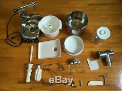 Electrolux Magic Mill Assistent N24 Countertop Kitchen Stand Mixer, vintage