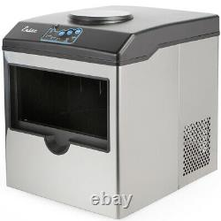 Ensue Portable countertop stainless steel ice maker, with water cooler dispenser