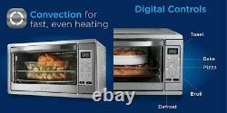 Extra Large Digital Countertop Convection Oven, Stainless Steel, Free Shipping