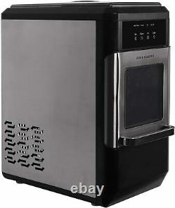 FRIGIDAIRE EFIC235-AMZ Countertop Crunchy Chewable Nugget Ice Maker, 44lbs/Day