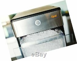 FirstBuild Opal01 Opal Nugget Ice Maker Portable, Countertop, Stainless Steel
