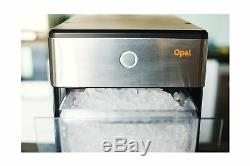 FirstBuild Portable Kitchen Ice Maker Countertop Compact Stainless Steel Plastic