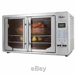 French Door Oster Digital Countertop Toaster Oven NO TAX Stainless Steel
