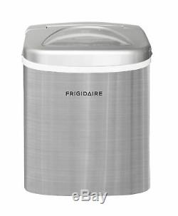 Frigidaire 26 lbs. Countertop Ice Maker Machine Stainless Steel