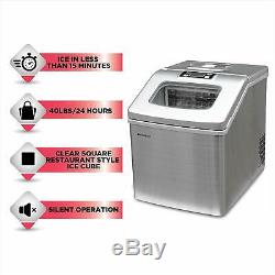 Frigidaire 40 lbs. Extra Large Countertop Ice maker Refurbished