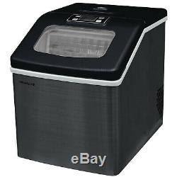 Frigidaire Countertop Ice Maker Black Stainless Steel EFIC452-SSBLACK