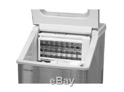 Frigidaire EFIC452-SS 40 Lbs Extra Large Clear Maker, Stainless Steel