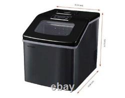 Frigidaire Extra Large Clear Ice Maker 40 Lbs Black EFIC452-SSBLACK