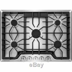 Frigidaire FGGC3047QS Gallery 30 Inch Gas Cooktop Stainless Steel