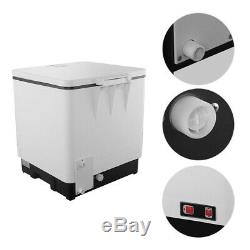 Full Automatic Countertop Dishwasher Portable 6 Place Stainless Steel Dish Wash