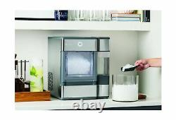 GE Portable Countertop Nugget Ice Maker Profile Opal Stainless Steel OPAL01GEPKT