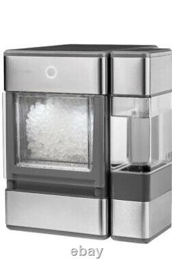 GE Portable Countertop Nugget Ice Maker Profile Opal Stainless Steel Portable