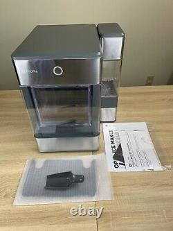 GE Profile Opal Countertop Nugget Ice Maker w Scoop 3 Pound Capacity Gray (19A)