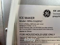 GE Profile Opal Countertop Nugget Ice Maker w Scoop 3 Pound Capacity Gray (36B)