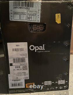 Ge Profile Opal Countertop Nugget Ice Maker with Water Tank, Scoop, and Tray- Gray