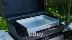 Griddle Gas Grill Pan Barbecue Stove Top Countertops Broiler Stainless Steel BBQ