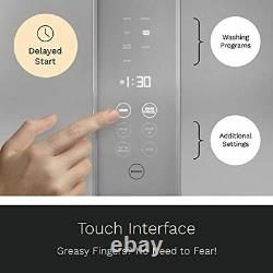 HOmeLabs Compact Countertop Mini Dishwasher Energy Star Portable Stainless Steel